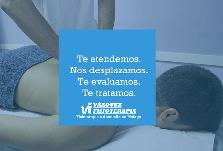 Servicio de fisioterapia a domicilio en Málaga.