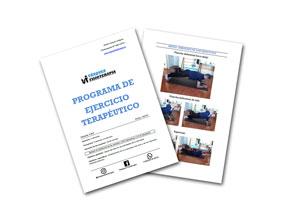 Programa de ejercicio terapéutico personalizado