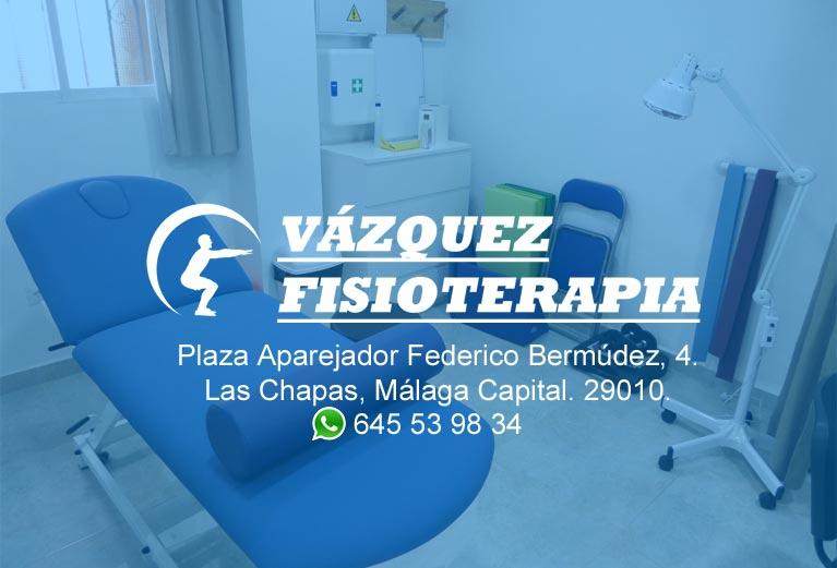 Clínica de fisioterapia en Málaga Capital. Te ayudamos con tu dolor, proceso de rehabilitación y objetivos de salud. Fisioterapeutas colegiados.